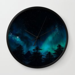 Stary Night Wall Clock