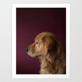 The Dog Art Print