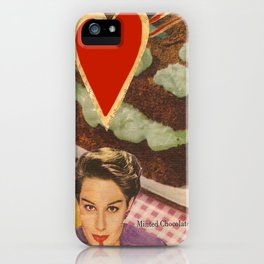 minted chocolate delight iPhone Case