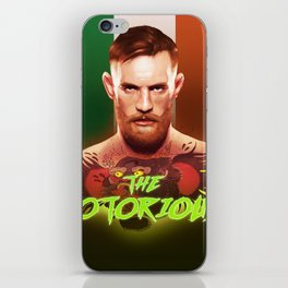 The Notorious Conor McGregor by Big Foot Studios iPhone Skin