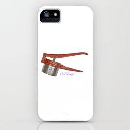 vintage masher iPhone Case