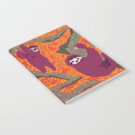 Sloth Mosaic Notebook