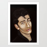 alex turner Art Prints featuring Alex Turner by Alfonso Aranda