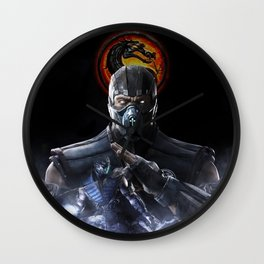 Double SubZero | Mortal K.O Wall Clock