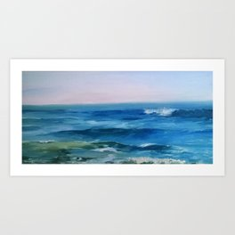 Nado Waves Art Print