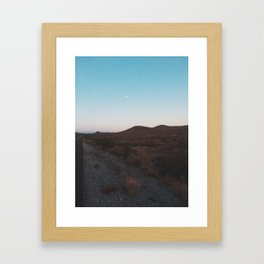 A Journey Across The States Framed Art Print