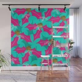 Pink Festivities Wall Mural