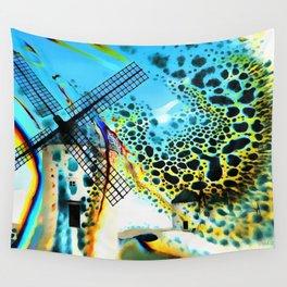 Windmills of La Mancha Wall Tapestry