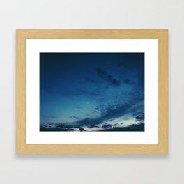 Cold Skies Framed Art Print