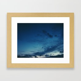 Cold Skies Framed Art Print