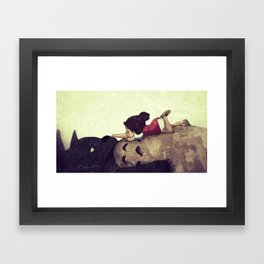 Friendship Never Ends Framed Art Print