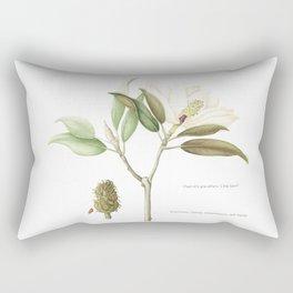 "Flowering ""Little Gem"" Magnolia Tree Rectangular Pillow"