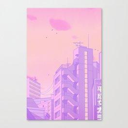Tokyo Valentine Canvas Print