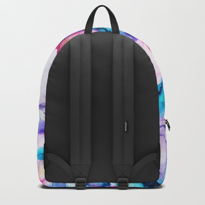 Colorful transparency || watercolor Backpack