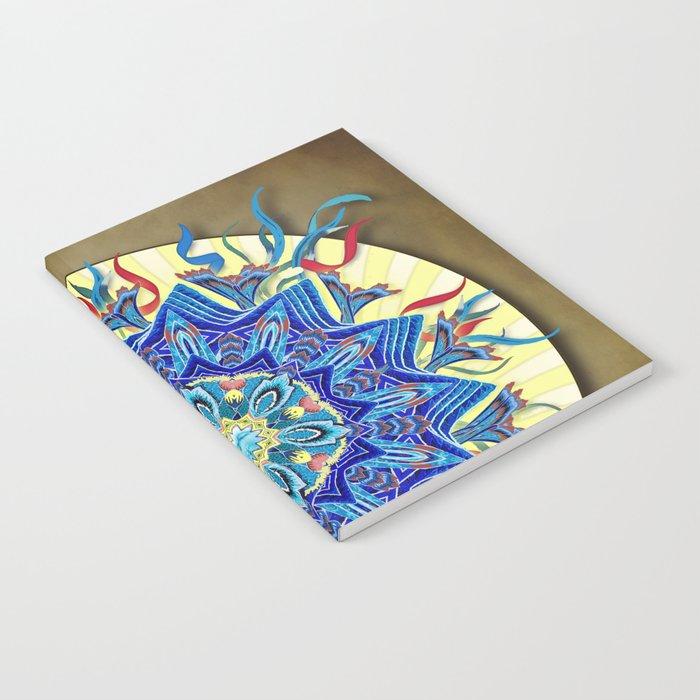Smiling Mandala Notebook