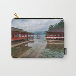 Miyajima Shrine at Rising Tide Carry-All Pouch