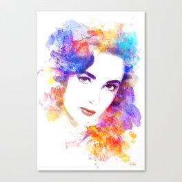Elizabeth Taylor Canvas Print