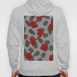 pinecone mistletoe pattern Hoody