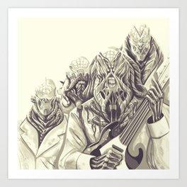 BRAINS REduX Art Print