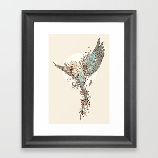 Tempus Fugit Framed Art Print