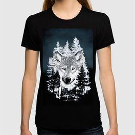 Forest Wolf Art T-shirt