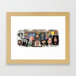 CARICATURAS ENRIQUE PITARCH Framed Art Print