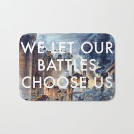 Glory of Storming the Bastille Bath Mat