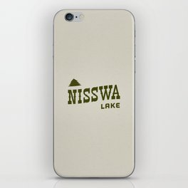 Nisswa Lake iPhone Skin