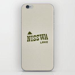 Nisswa Lake iPhone Skin