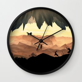 Dante's Inferno: Circle of Gluttony Wall Clock