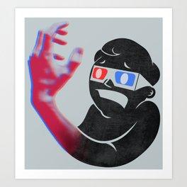 Now in Eye-Popping 3D! Art Print