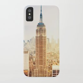 Empire State in New York iPhone Case