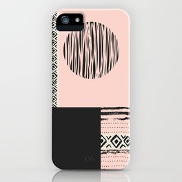 Modern Art - Abstract forms 027 iPhone Case