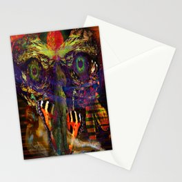 Awake inside Environmental Dream Stationery Cards