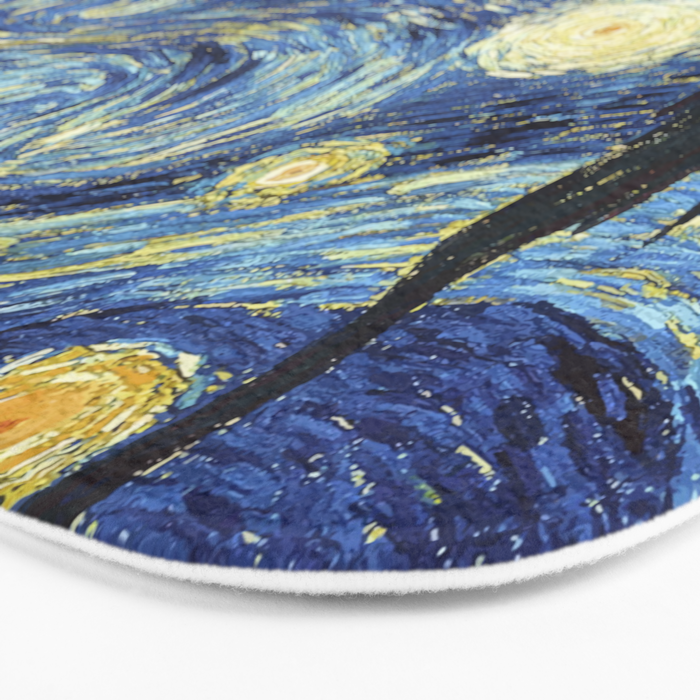 Van Gogh Starry Night Bath Mat