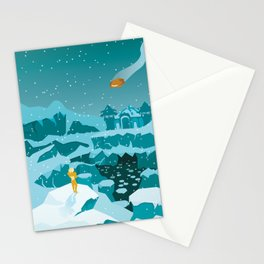 Phendrana Drifts Stationery Cards