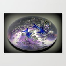 Caught in a Bubble Canvas Print