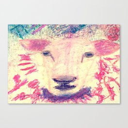 Angelic Ewe Canvas Print