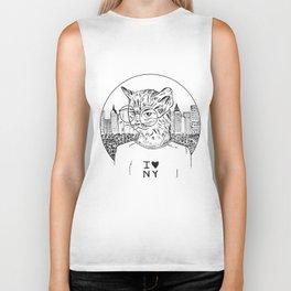 NY Cat Biker Tank