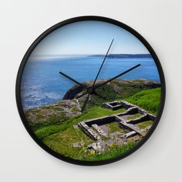 Strong Foundations Wall Clock