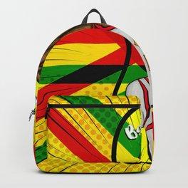 Rasta basket vibes Backpack