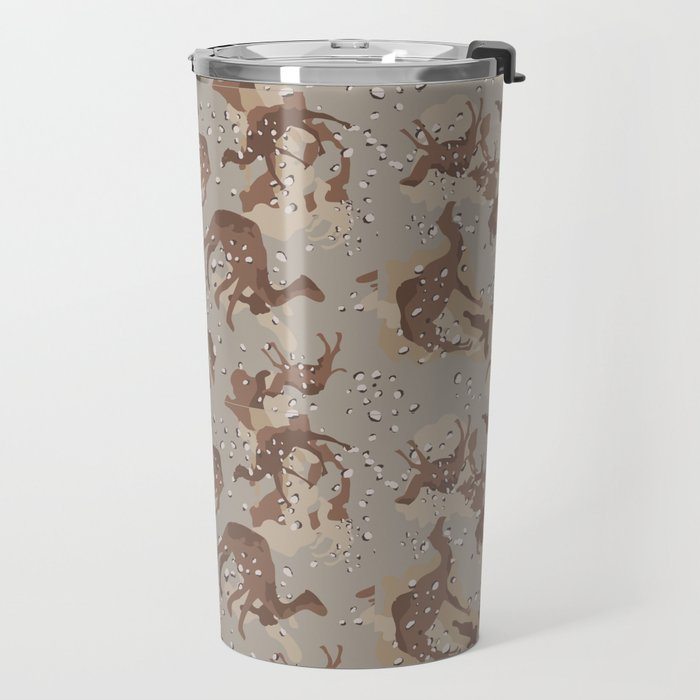 Camelflage Travel Mug