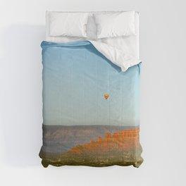# Hot Air Balloons Over Sedona   Comforters