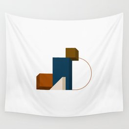 Abstrato 02 // Abstract Geometry Minimalist Illustration Wall Tapestry