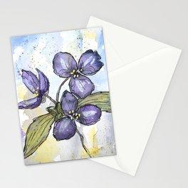 Spiderwort Prairie Plant Stationery Cards