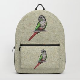 Green-cheeked conure Backpack