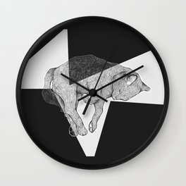 Meow Forever Wall Clock