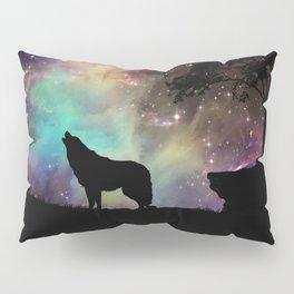 Galaxy wolf | Wolf | Powerful wolf | Wolf love | Wolfsbane | Lycan Pillow Sham