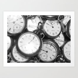 Forever in Time Art Print