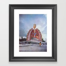 They came out from the deep Framed Art Print